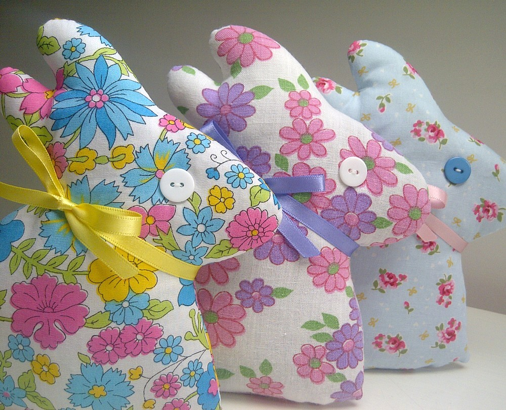 Lavender Bunnies