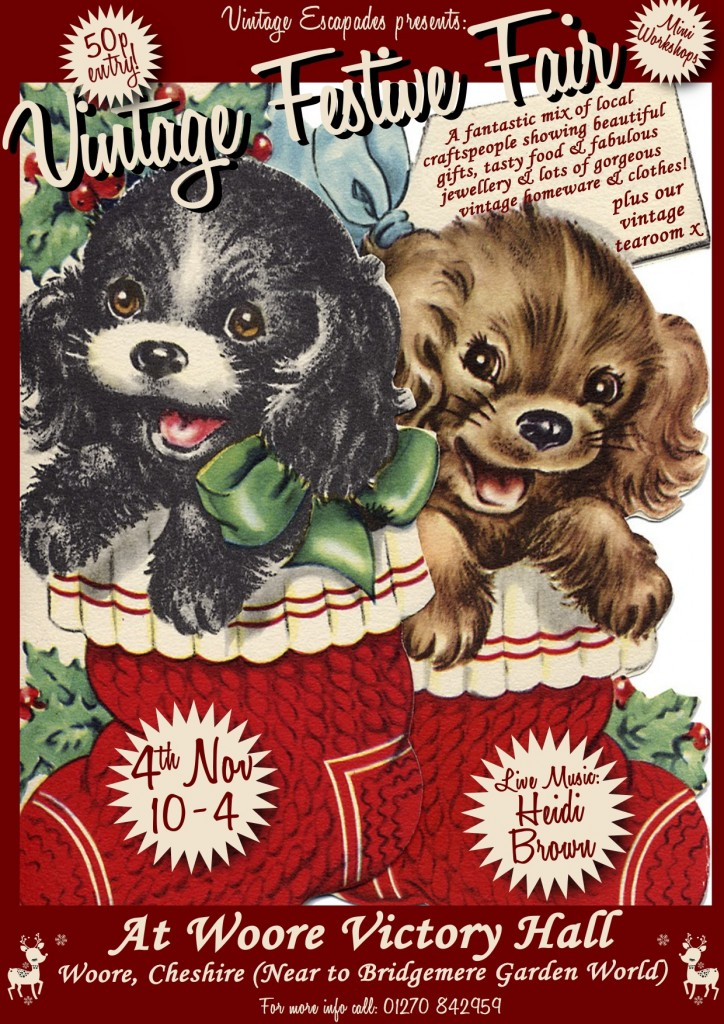 Puppies in stockings