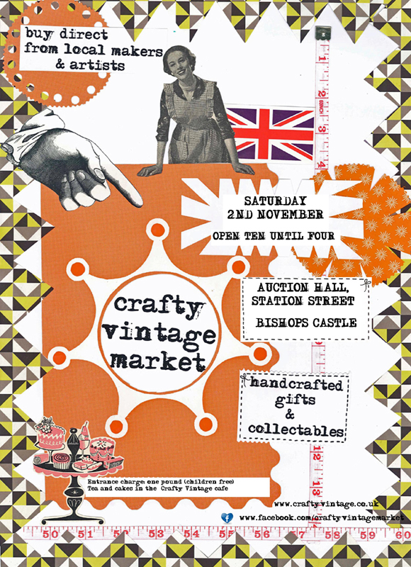 Crafty Vintage. It's crafty!