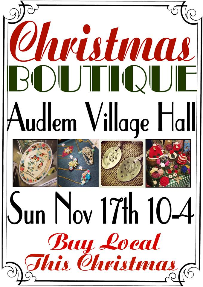 Christmas Boutique this Sunday