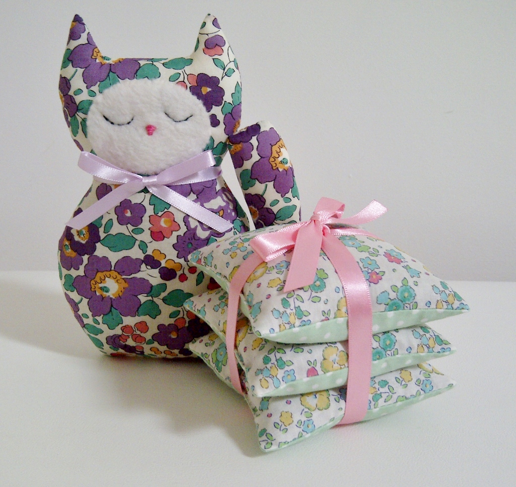 Liberty Print Lavender Cat