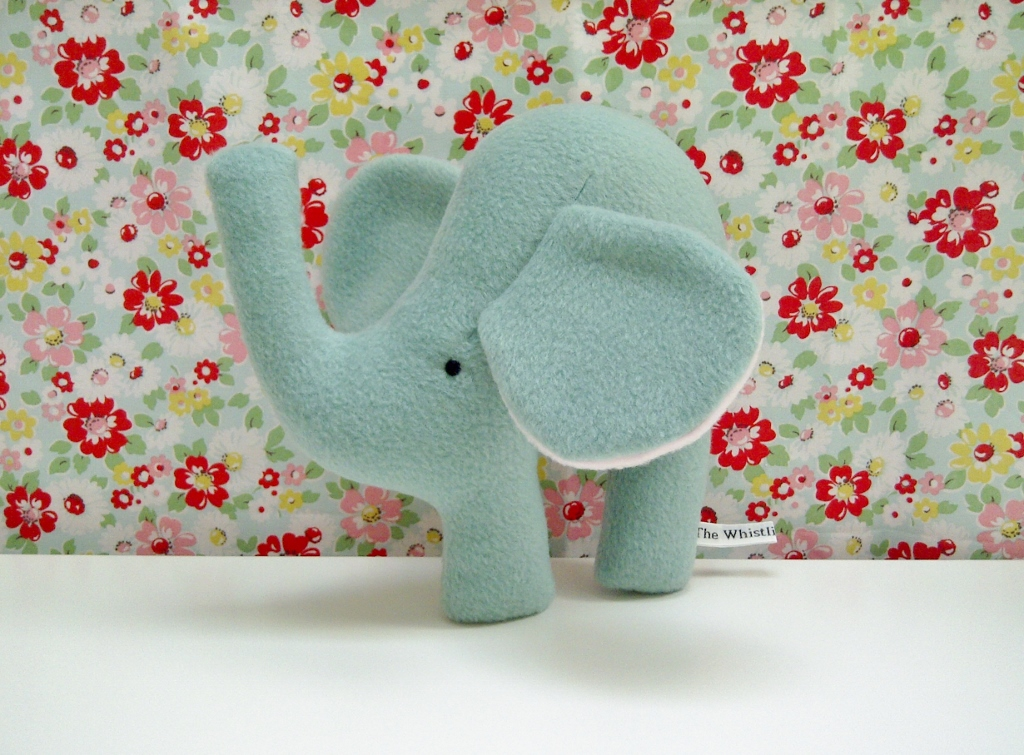 mini fleece elephant